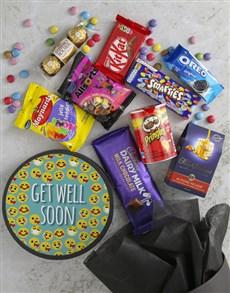 gifts: Get Well Emoji Sweet Hat Box!