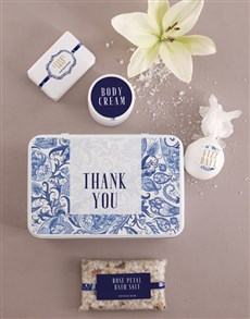 gifts: Thank You Bath and Body Tin!