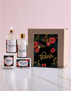gifts: Thank You Pampering Gift Box!