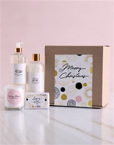 gifts: Merry Christmas Bath and Body Box!
