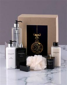 gifts: Charlotte Rhys Golden Christmas Hamper!