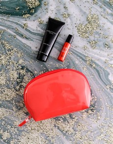 gifts: Charlotte Rhys Coral Cosmetic Bag Hamper!