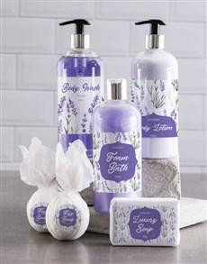 gifts: Bath And Body Lavander Love Gift Hamper!