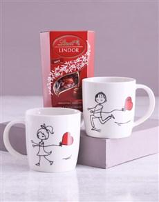 gifts: Chasing Love Mug Set With Lindt Treats!