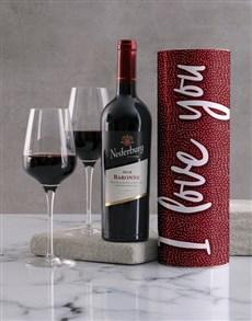 gifts: I Love You Wine Tube!