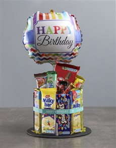 gifts: Chocolate Birthday Cake Surprise!