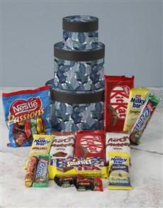 gifts: Botanical Wrap Around Chocolate Tower Box!