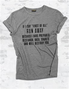 gifts: First Of All Ladies T Shirt!
