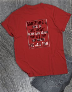 gifts: Jail Time T Shirt!