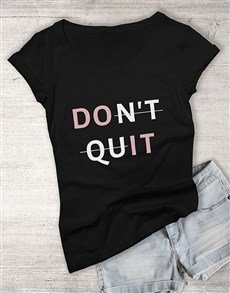 gifts: Do It Ladies T Shirt!