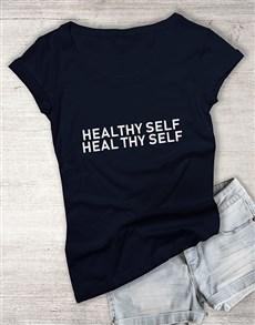 gifts: Heal Thy Self Ladies T Shirt!