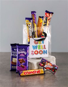 gifts: Bag of Get Well Choc Treats!