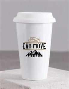 gifts: Faith Can Move Travel Mug!