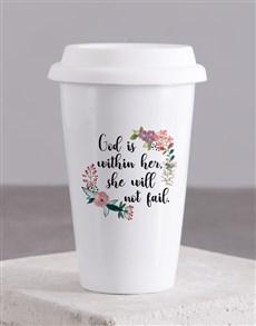 gifts: God within Her Travel Mug!