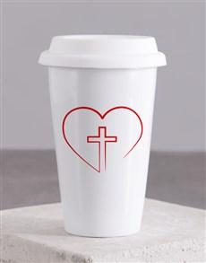gifts: Love Jesus Travel Mug!