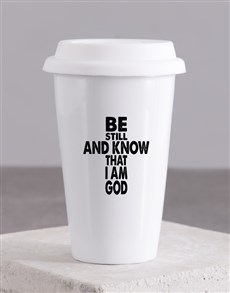 gifts: Be Still and know Travel Mug!