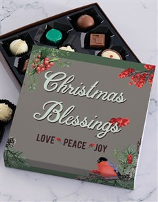 gifts: Christmas Robin Chocolate Tray!