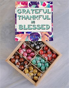 gifts: Thankful And Blessed Chocolate Tray!