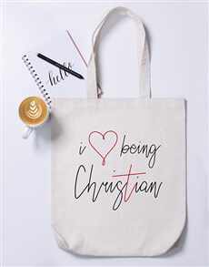 gifts: Christian Tote Bag!