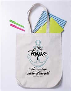 gifts: Hope Anchor Soul Tote Bag!