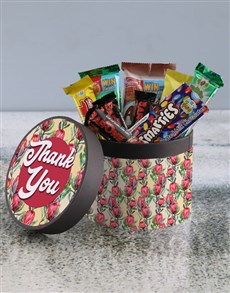 gifts: Thank You Flower Hatbox!