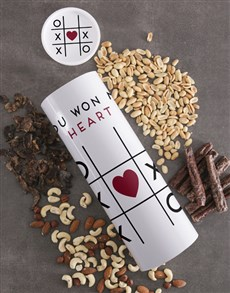 gifts: Game Of Love Biltong And Nuts Tube!