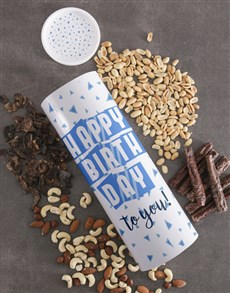 gifts: Birthday Biltong And Nuts Tube!