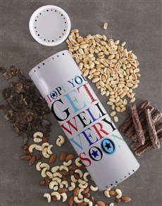 gifts: Get Well Soon Biltong And Nuts Tube!