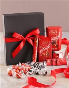 gifts: Ravishing Red And Black Chocolate Box!