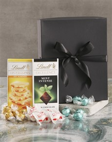 gifts: Glorious Green And Black Chocolate Box!