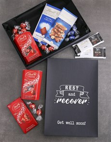 gifts: Rest And Recover Lindt Chocolate Box!