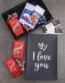 gifts: I Love You Lindt Chocolate Box !
