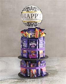 gifts: Cadbury Anniversary Chocolate Tower And Balloon!