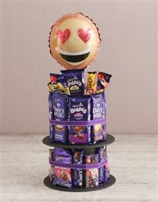 gifts: Cadbury Love Chocolate Tower And Balloon!