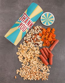 gifts: Thank You Fruit And Nuts Tube!