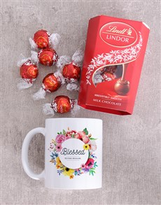 gifts: Blessed Lindt And Mug Set!