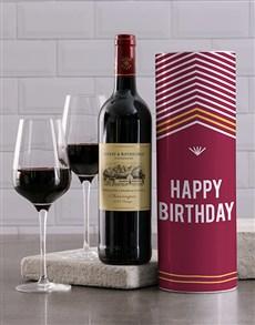 gifts: Happy Birthday Wine Tube!