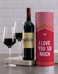 gifts: Love You Wine Tube!