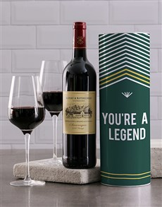 gifts: Legend Wine Tube!