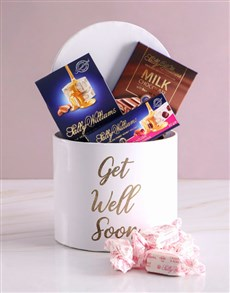 gifts: Sally Williams Get Well Hat Box!