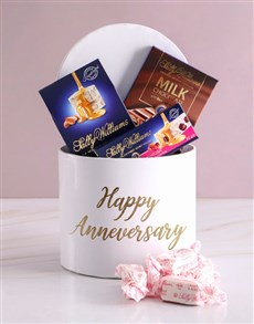 gifts: Anniversary Sally Williams Hat Box Treat!