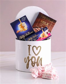 gifts: Sally Williams Love You Hat Box !