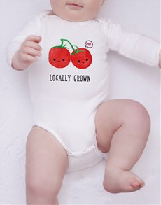 gifts: Locally Grown Onesie!