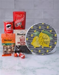 gifts: Snack Tin of Happiness!