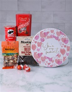 gifts: Favourite Snack Tin!