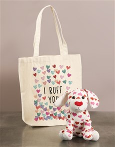 gifts: Puppy Ruff And Tote Bag!