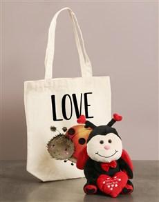 gifts: Ladybug Love Bug And Tote Bag!