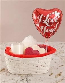 gifts: Romantic Love Soap Basket!