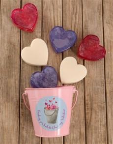 gifts: Buckets of Love Soap Hamper!