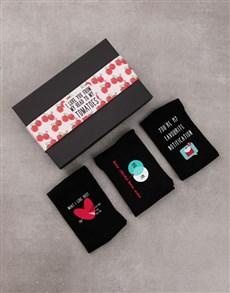 gifts: Set of Love Socks!